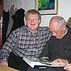 Hans and Gudrun Gehrcke visiting Poul Henning March 4. 2005